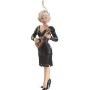 Marilyn Monroe Some Like it Christmasy ornament